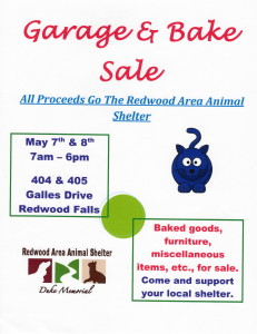 Garage & Bake Sale